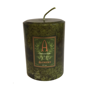 Oregon fir candles