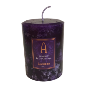 European black current candle