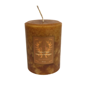 honey comb candle