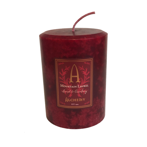 laurel scented candle