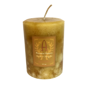 vanilla scented candle
