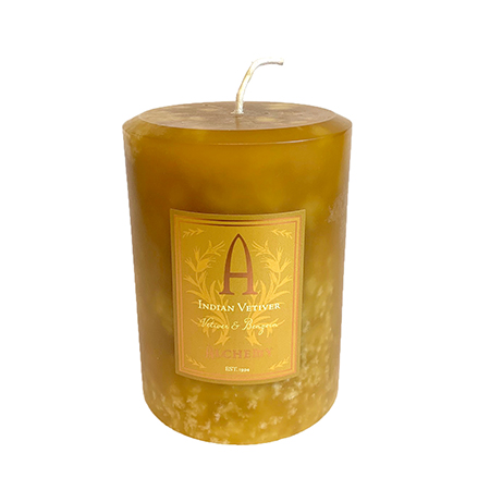 Indian Vetiver & Benzoin Candles