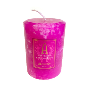 Candles: Pink Hibiscus & Tropical Fruits