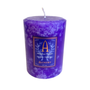 African Violet and Wild Iris candles