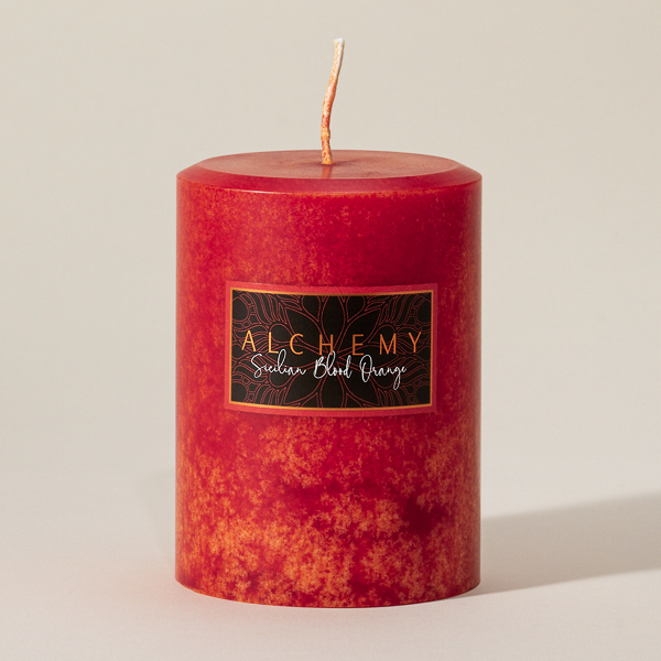 Sicilian Blood Orange Candle with Cranberry