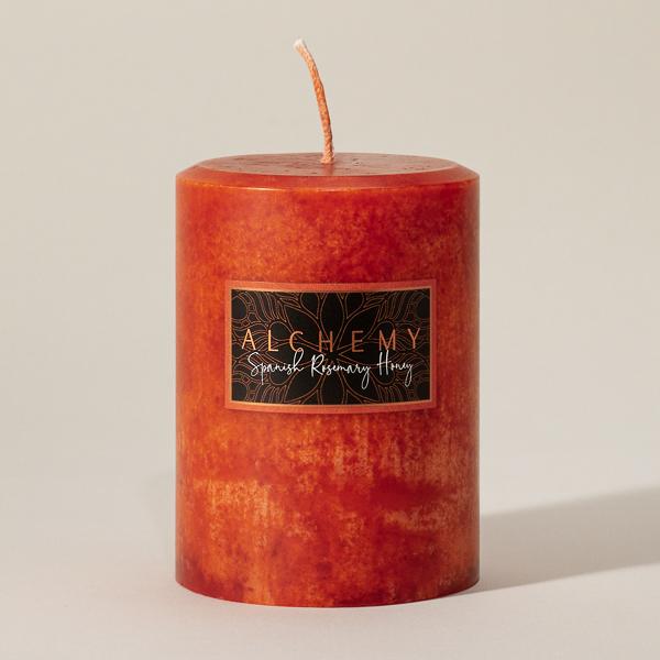 Spanish Rosemary Honey made from Pure honeycomb, fir needle, sweet rosemary, cinnamon, clove, and orange.